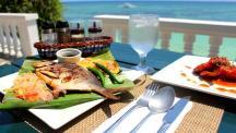Filipino and international cuisine